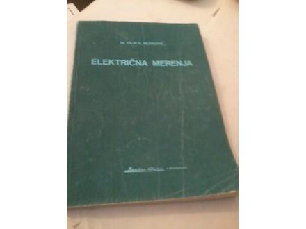 Električna merenja prvi deo - dr Filip K. Petrović
