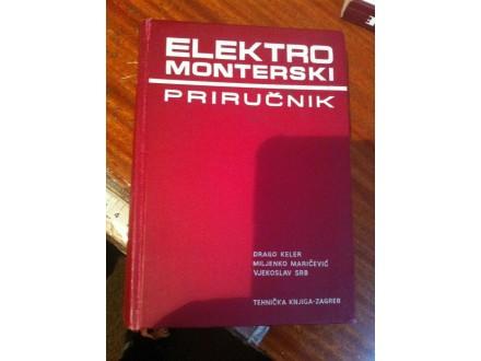 Elektro monterski priručnik Keler Martičević Srb