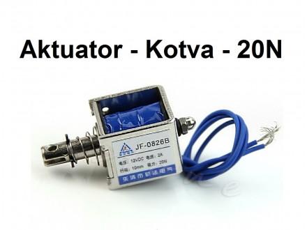 Elektromagnetna kotva - prekidac - 20N - 12V
