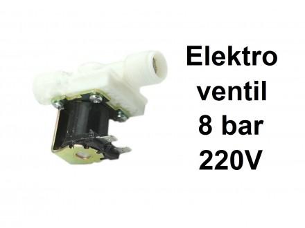 Elektromagnetni ventil - 8 bar - 220 V - 1/2 cola