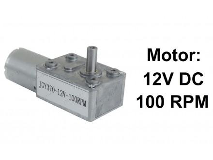 Elektromotor sa reduktorom - 12V - 100RPM