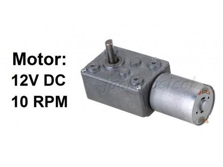 Elektromotor sa reduktorom - 12V - 10RPM