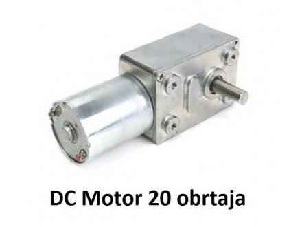 Elektromotor sa reduktorom - 12V - 20RPM