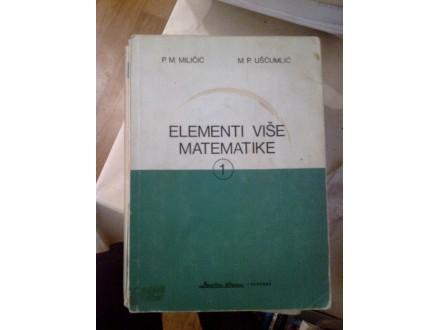 Elementi više matematike 1 - Miličić Uščumlić