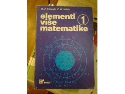 Elementi više matematike - Ušćumlić Miličić