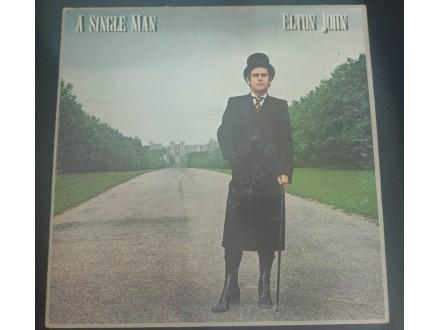 Elton John - A Single Man LP (Italy,1978)
