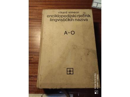 Enciklopedijski rječnik lingvističkih naziva A - O Sime