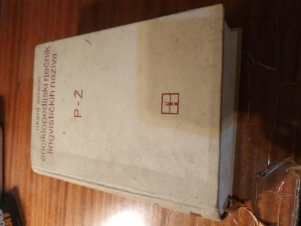 Enciklopedijski rječnik lingvističkih naziva P - Ž Sim
