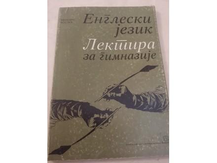 Engleski jezik - Lektira za gimnazije