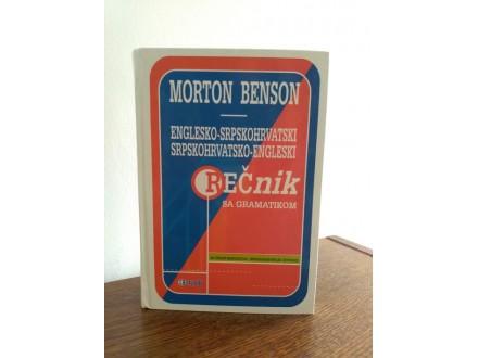 Englesko-Srpskohrvatski rečnik sa gramatikom - M.Benson