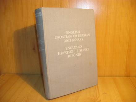 Englesko-hrvatski ili srpski rečnik