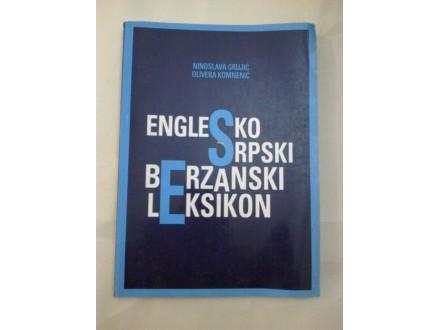Englesko srpski berzanski leksikon - Grujić Komnenić