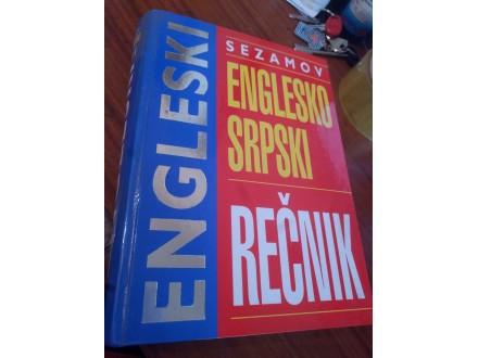 Englesko srpski rečnik Sezamov