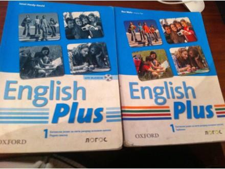 English Plus 1 LOGOS knjiga + radna sveska