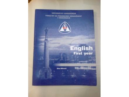English first year - Silva Mitrović