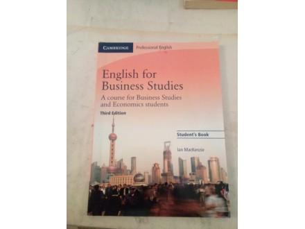 English for Business Studies - Ian MacKenzie
