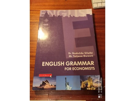 English grammar for economists Silaški Đurović