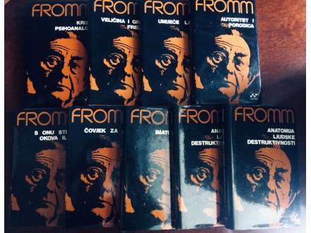 Erich Fromm 9 knjiga iz Sabranih dela