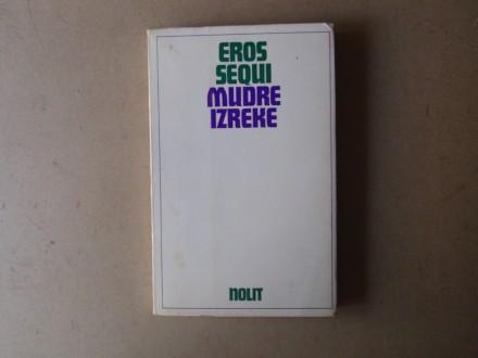 Eros Sequi - MUDRE IZREKE