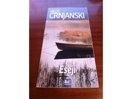 Eseji Miloš Crnjanski