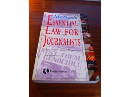 Essential law for journalists Mc Naes