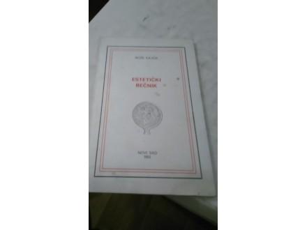 Estetički rečnik - Rože Kajoa