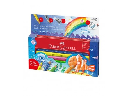 FABER CASTELL Colouring set Metal Box 110908