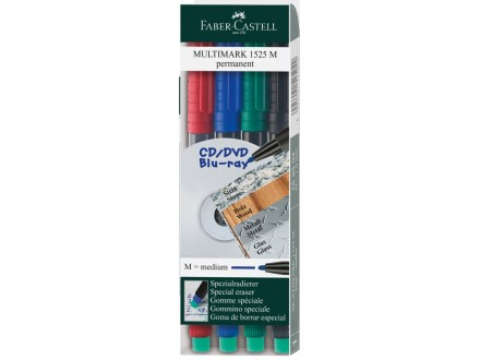FABER CASTELL Flomaster OHP S 1/4 152304