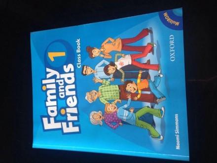 FAMILY AND FRIENDS 1, komplet knjiga i radna sveska+CD
