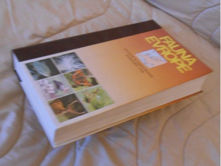 FAUNA EVROPE(Priručnik za raspoznavanje životinj. vrsta