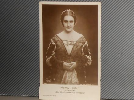 FILM.GLUMCI-HENNY PORTEN(1890-1960)  (III-27 )