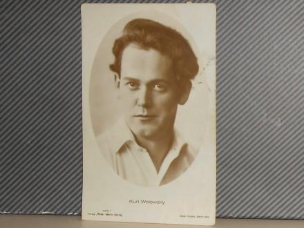 FILM.GLUMCI- KURT WOLOWSKY(1897-1985) (III-55)