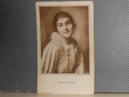 FILM.GLUMCI- SYBILLE  BINDER(1895-1962)  (III-86)