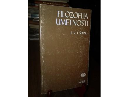 FILOZOFIJA UMETNOSTI - F. V. J. Šeling