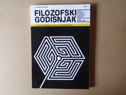 FILOZOFSKI GODIŠNJAK 14 / 2001