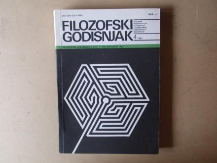 FILOZOFSKI GODIŠNJAK 4 / 1991