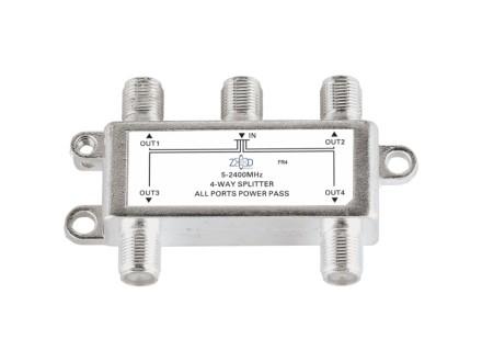 FR4 Antenski razdelnik 1 ulaz - 4 izlaza, 5-2400MHz