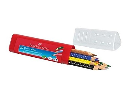 Faber-Castell Coloured Pencil - Grip, 10 - Faber-Castell