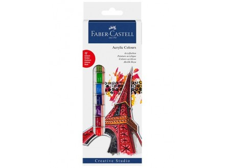Faber-Castell Tempere - 1/12, Akrilne - Faber-Castell