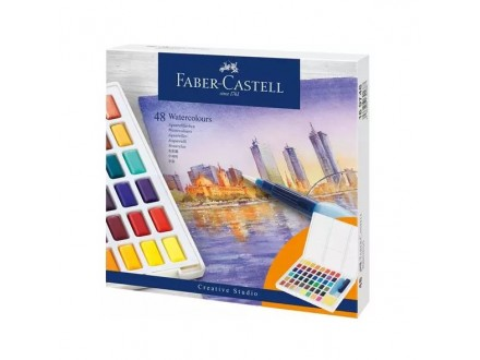 Faber Castell Watercolours in Pans 1/48 169748
