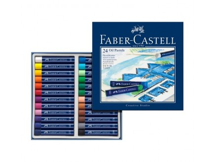 Faber Castell oil pastel crayons 127024