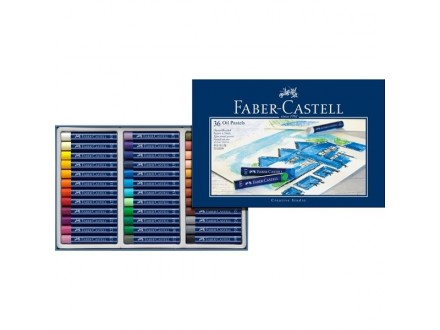 Faber Castell oil pastel crayons 127036
