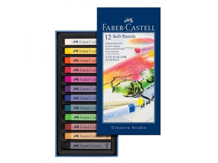 Faber Castell soft pastel crayons 128312