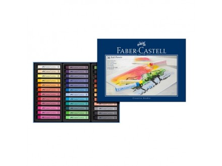 Faber Castell soft pastel crayons 128336