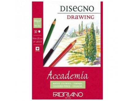 Fabriano drawing 200g 14.8x21/30L 41201421