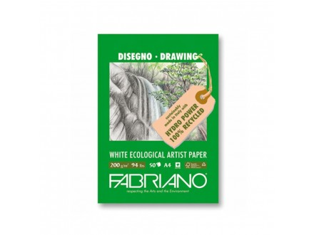 Fabriano drawing 200g 21x29.7/50L 25021297