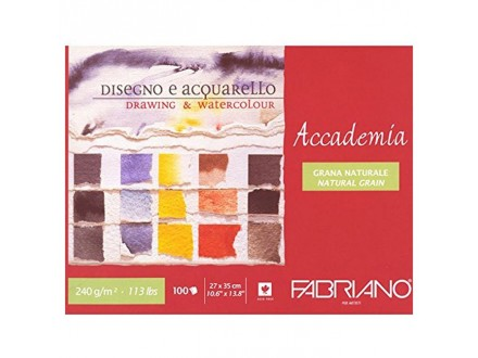 Fabriano drawing and aquarell 240g 27x35/100L 42402735