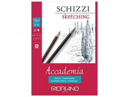 Fabriano sketching 120g 14.8x21/50L 41121421