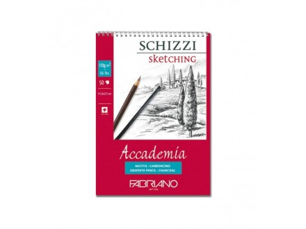 Fabriano sketching 120g SP 14.8x21/50L 44121421