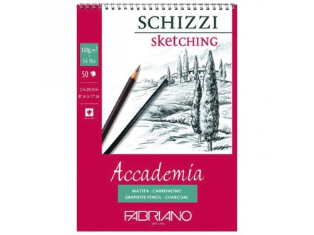 Fabriano sketching 120g SP 21x29.7/50L 44122129